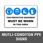 Multi-Condition PPE Signs