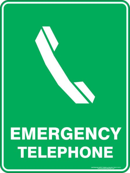 Emergency Signs EMERGENCY TELEPHONE