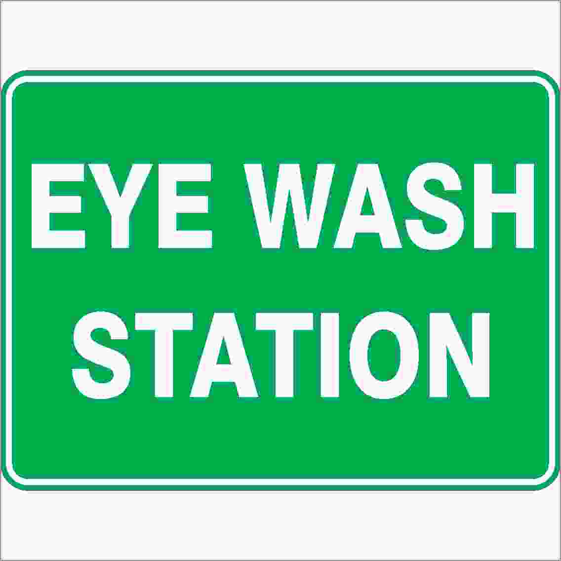 Emergency Signs EYE WASH STATION
