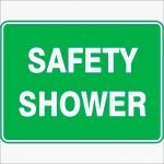 Emergency Signs SAFETY SHOWER