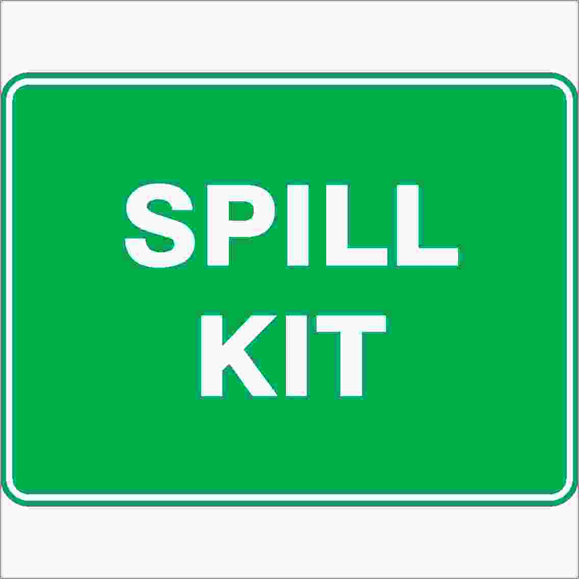 Emergency Signs SPILL KIT