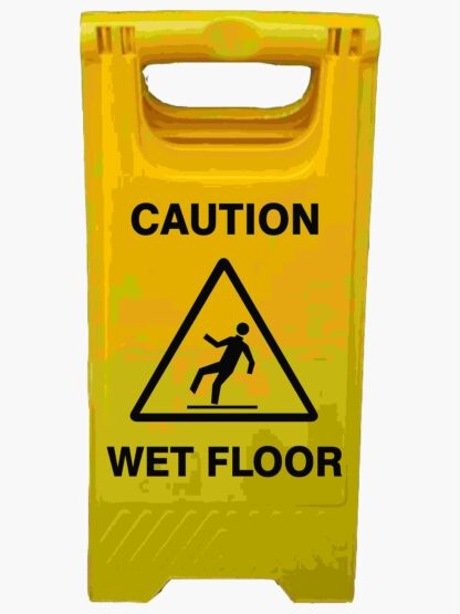 CAUTION WET FLOOR A-Frame Signs