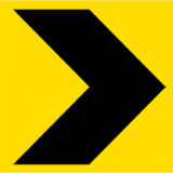 Temporary Traffic Signs CHEVRON