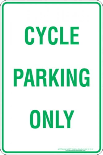 Parking Signs CYCLE PARKING ONLY