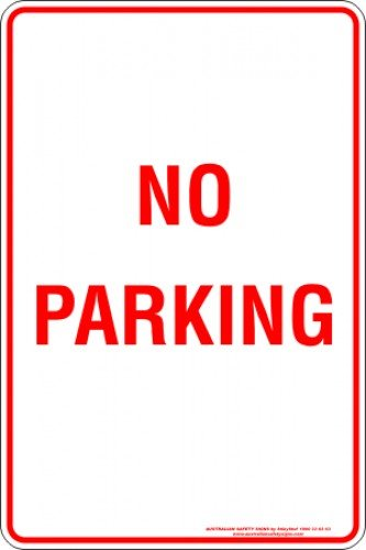 Parking Signs NO PARKING