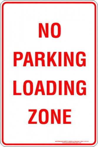 Parking Signs NO PARKING LOADING ZONE