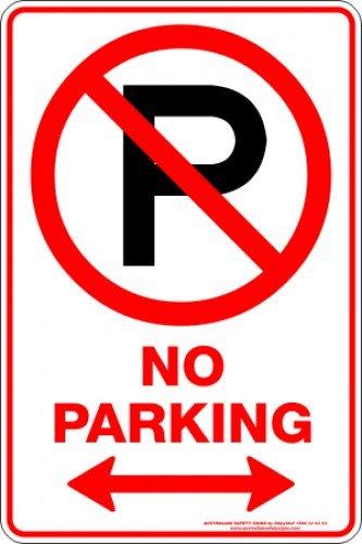 Parking Signs NO PARKING P SPAN ARROW