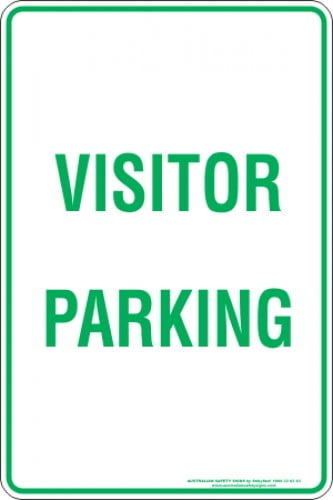Parking Signs VISITOR PARKING