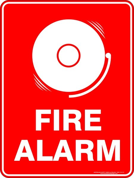 Fire Safety Signs FIRE ALARM2