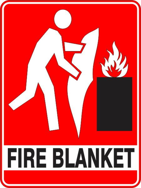 Fire Safety Signs FIRE BLANKET