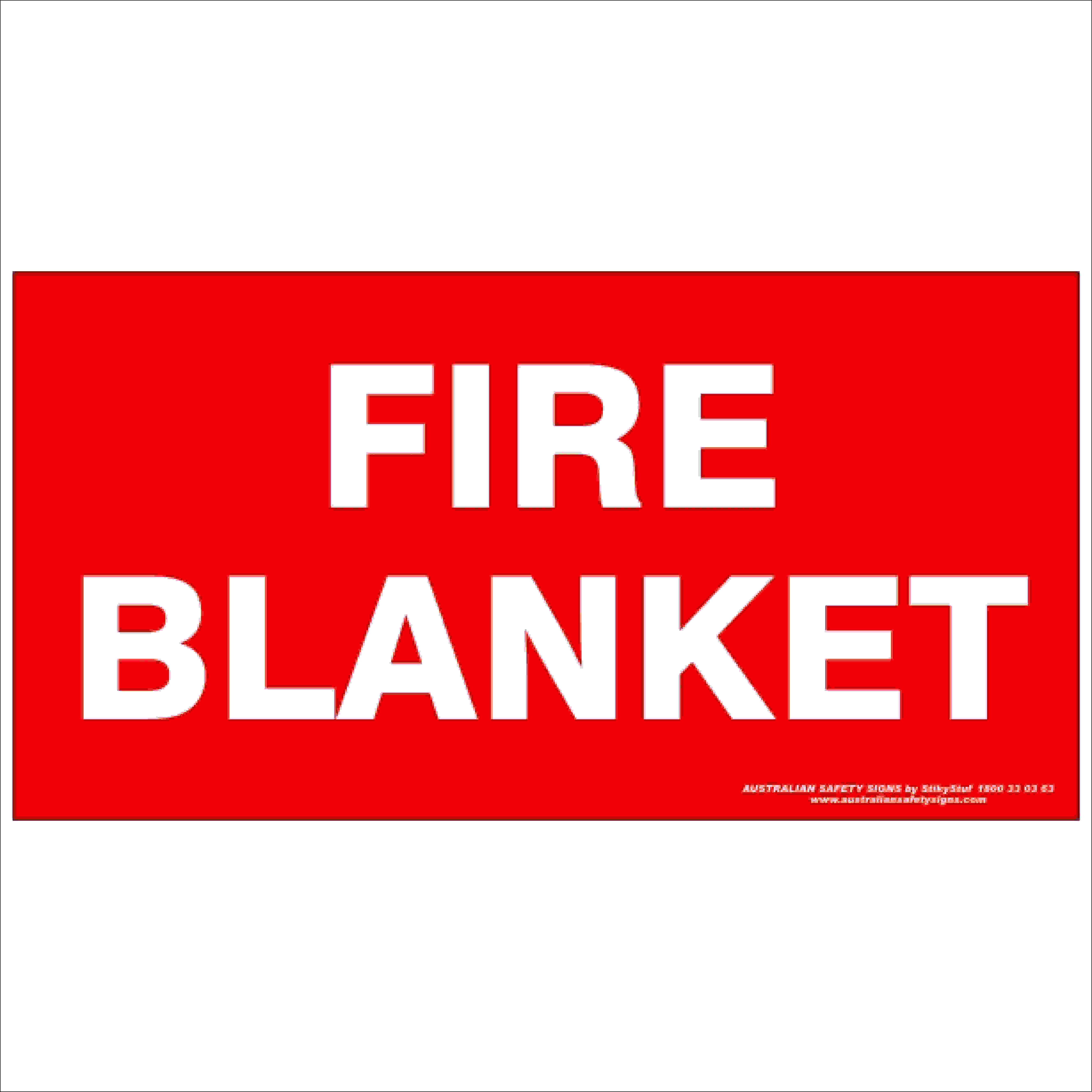 Fire Safety Signs FIRE BLANKET 350