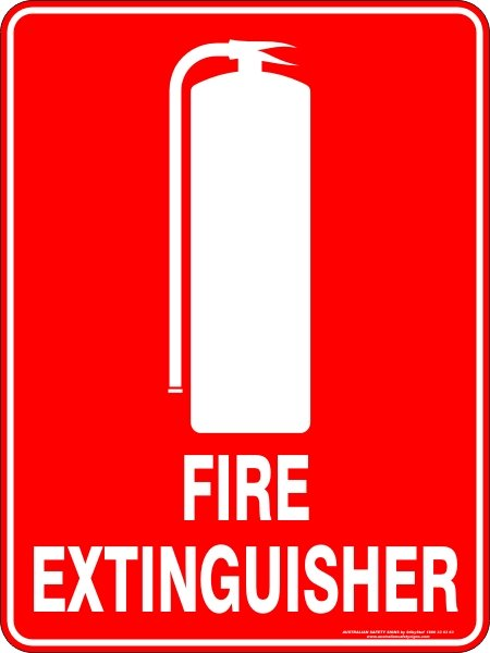 Fire Safety Signs FIRE EXTINGUISHER