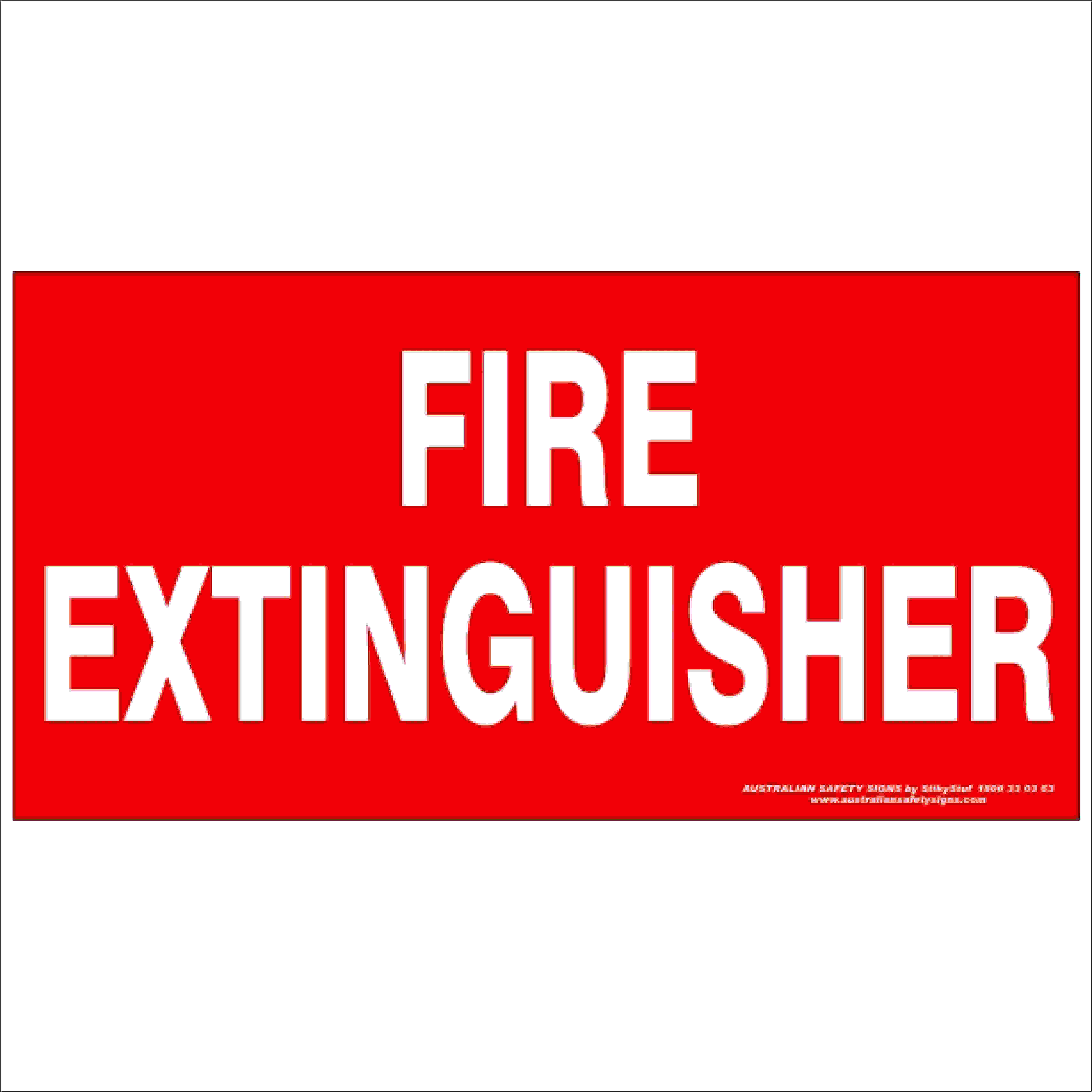 Fire Safety Signs FIRE EXTINGUISHER 350
