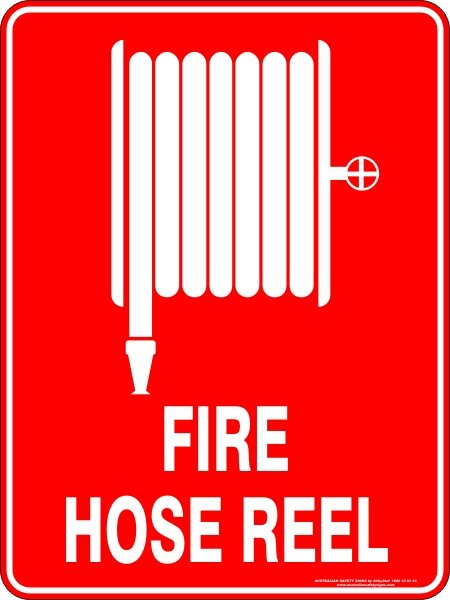 Fire Safety Signs FIRE HOSE REEL