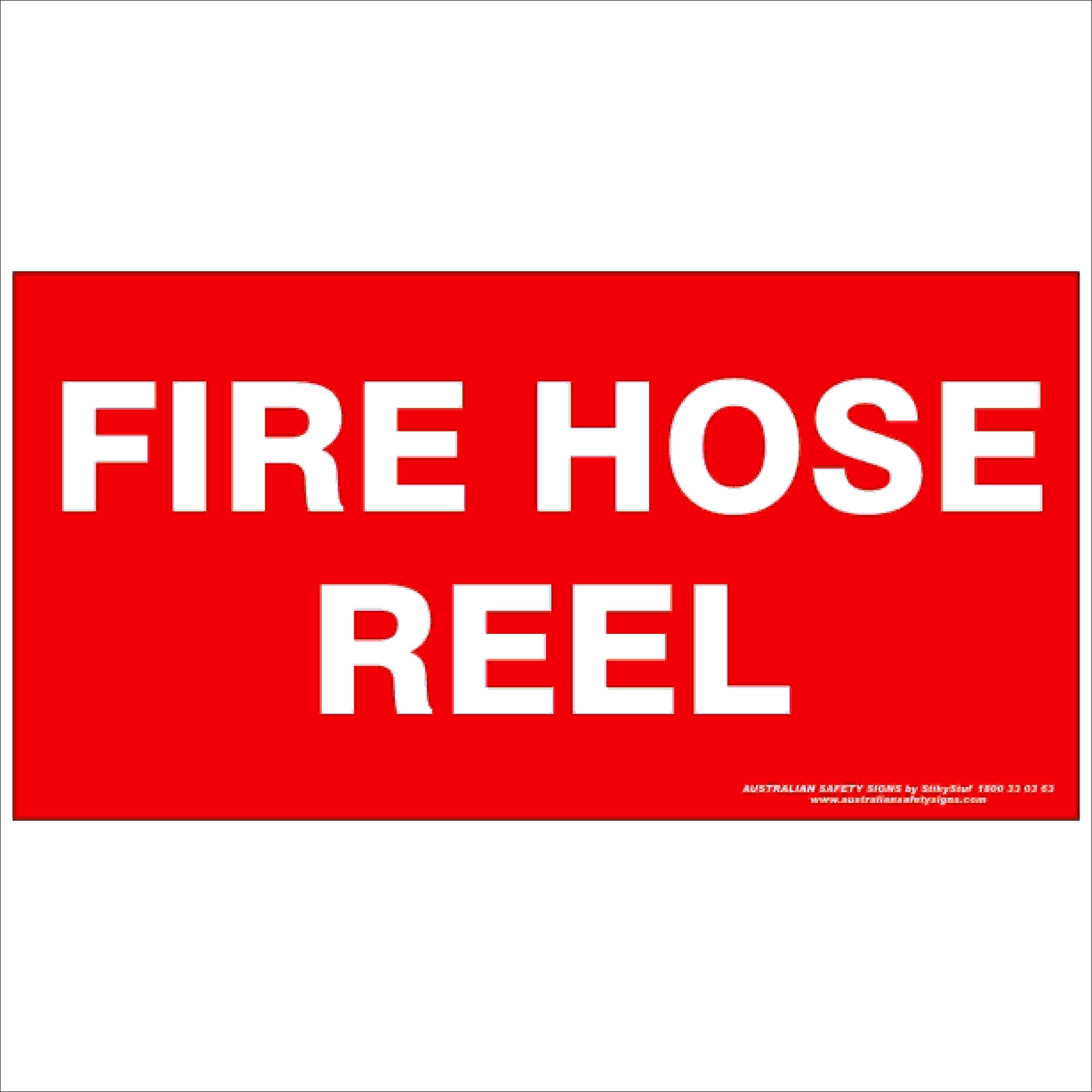 Fire Safety Signs FIRE HOSE REEL 350