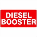 Fire Safety Signs DIESEL BOOSTER