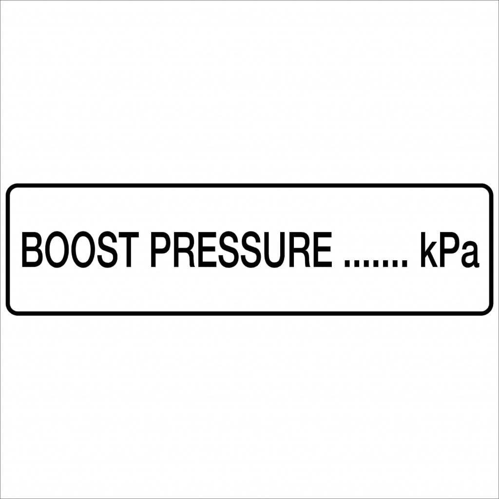 boost pressure kpa