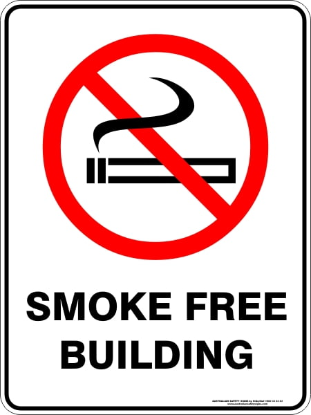 Prohibition Signs SMOKE FREE BUILDING