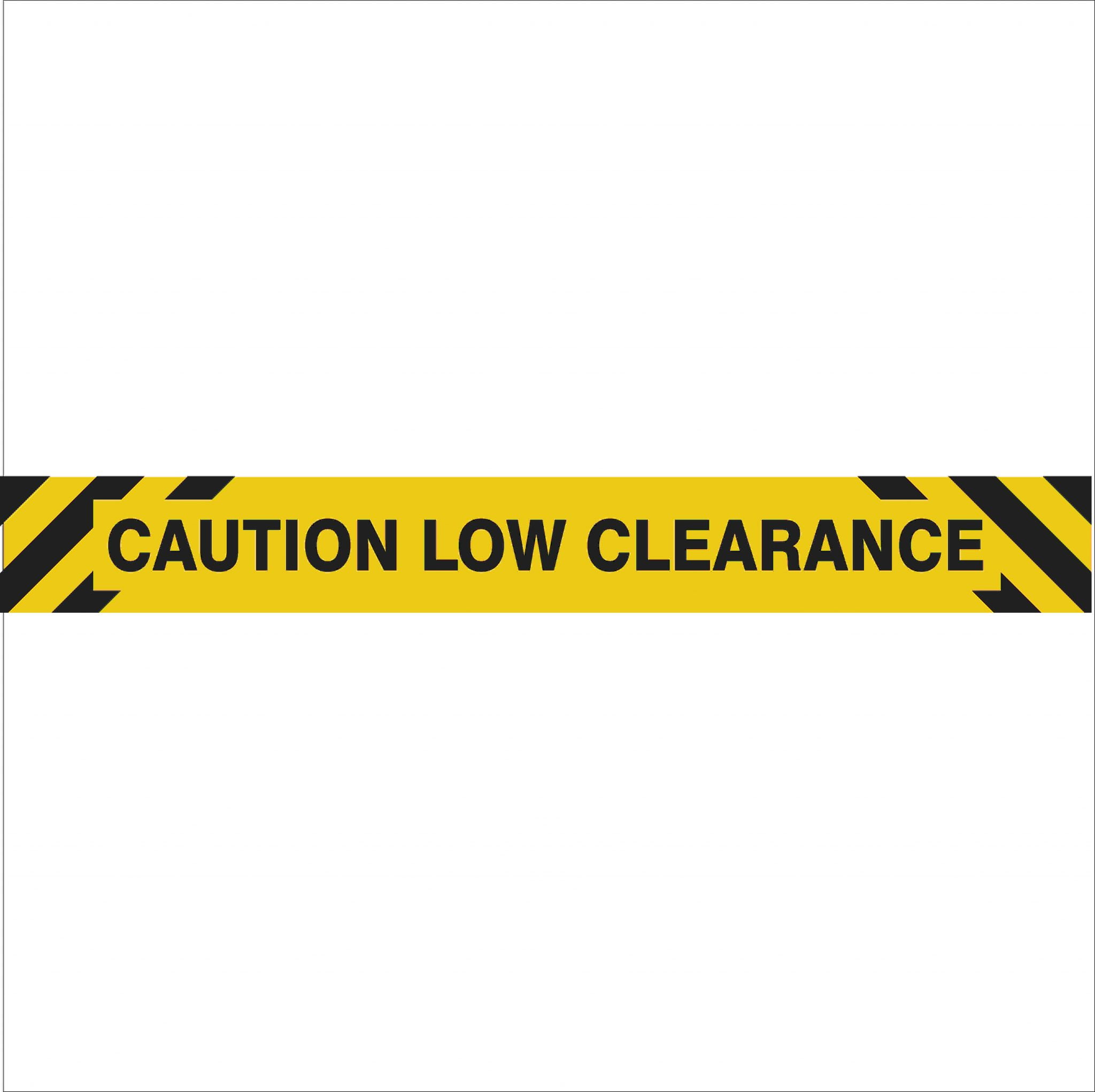 Low Clearance Discount Safety Signs Australia
