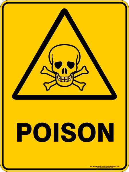 Warning Signs POISON