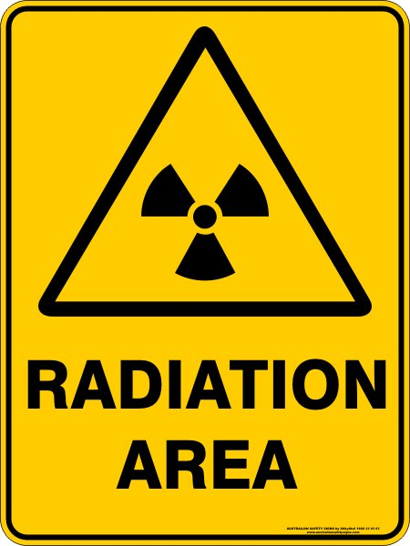 Warning Signs RADIATION AREA
