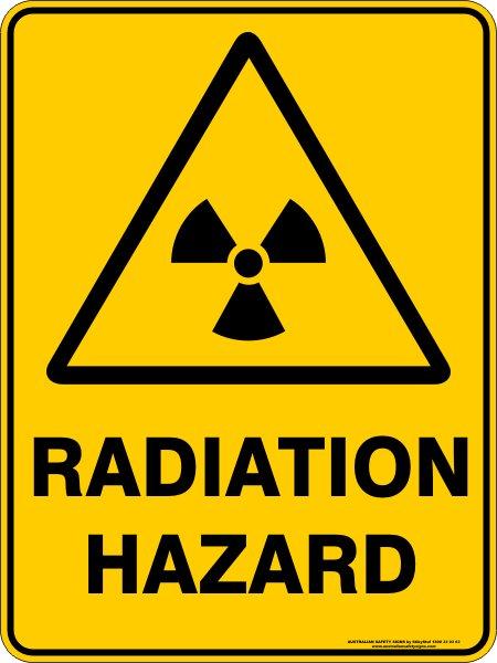 Warning Signs RADIATION HAZARD