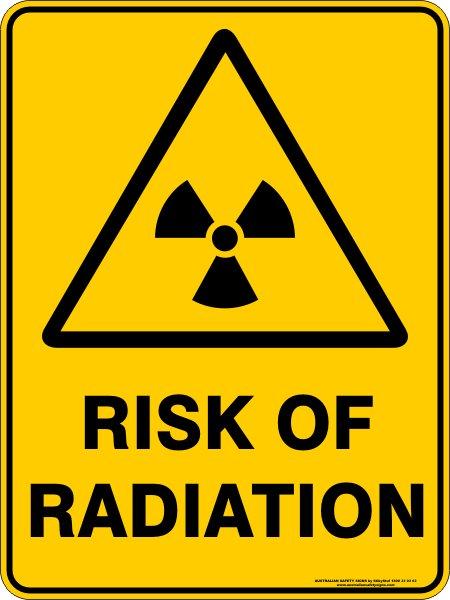 Warning Signs RISK OF RADIATION