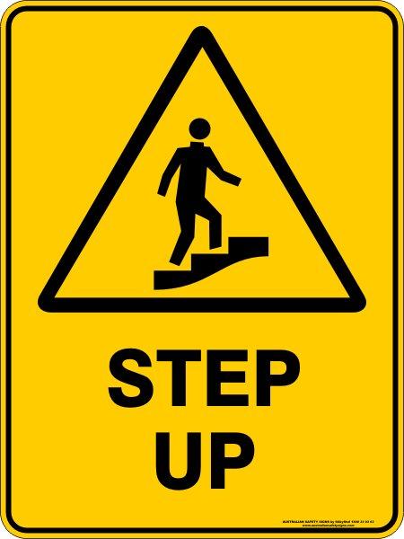 Warning Signs STEP UP
