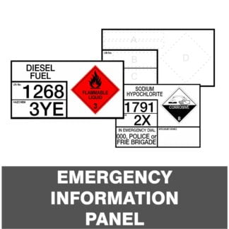 Emergency Information Panels
