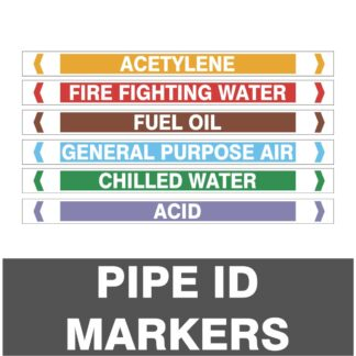 Pipe ID Markers