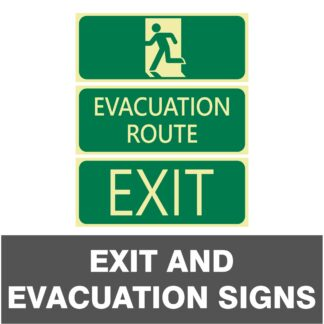Exit and Evacuation Signs