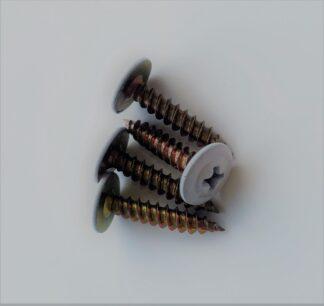 screw fixings white
